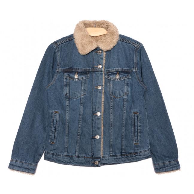 2362 Defile куртка джинсовая женская синяя осенняя коттоновая (S-XL, 4 ед.) Defile: артикул 1116903