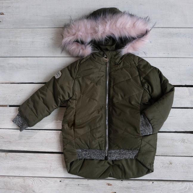 17111-21 Michell куртка детская хаки на синтепоне (5 ед. размеры: 98.98.116.116.122) Michell: артикул 1116787