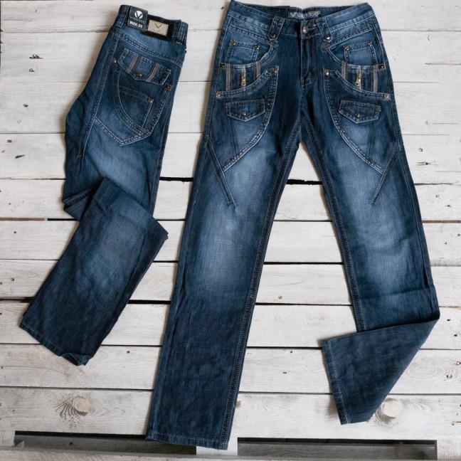5862-2 Vigoocc джинсы мужские синие котоновые (7 ед. размеры: 28.29.30.31.32.33.34) Vigoocc: артикул 1117189