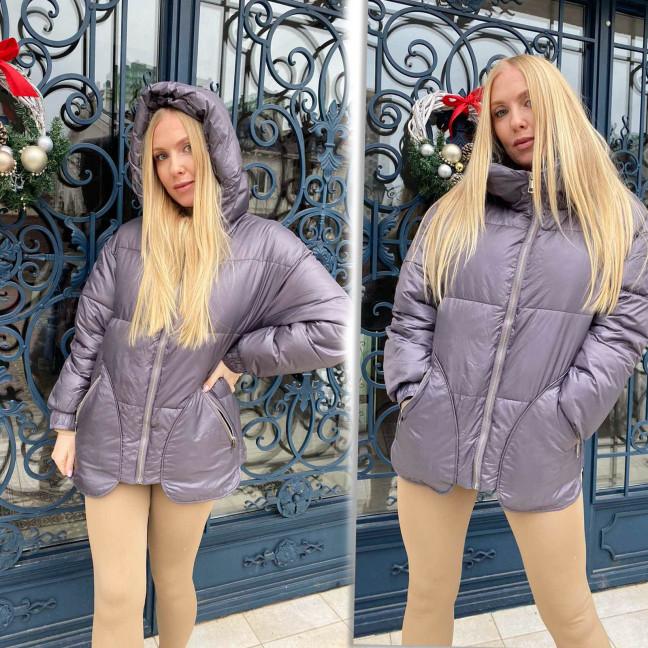 1082-3 LADY YEP сиреневая куртка женская еврозима  (3 ед. размеры: 42.44.46) Lady Yep: артикул 1117317