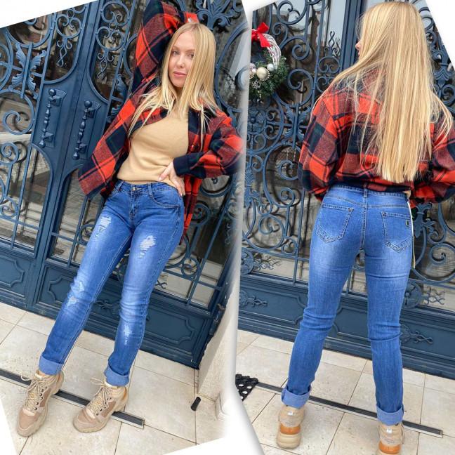 8158 X&D джинсы женские синие стрейчевые (6 ед. размеры: 25.26.27.28.29.30) X&D : артикул 1117296