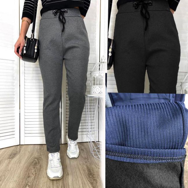 12120 Fashion  брюки спортивные женские полубатальные на байке микс 3 цвета (6 ед. размеры: L.L.XL.XL.XXL.XXL) Fashion: артикул 1117164