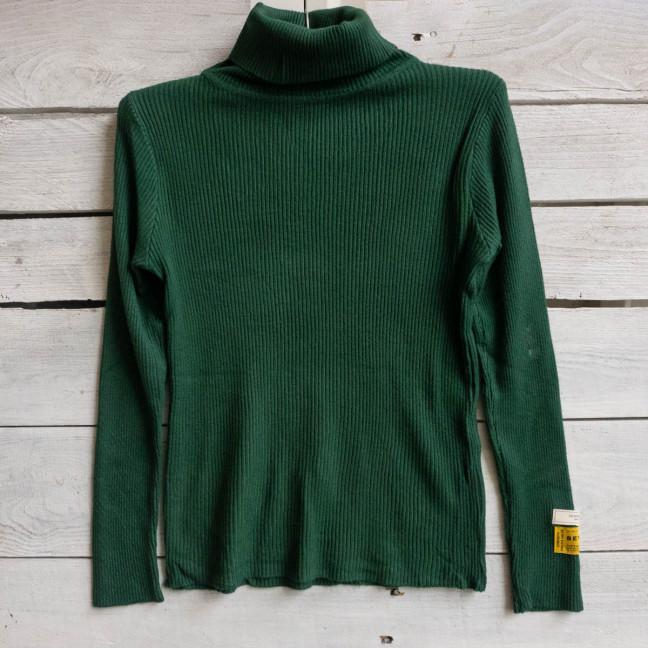 93704 MC зеленый женский трикотажный гольф (1 ед. размер: универсал 42-46)) #естьрозница MC: артикул 1117098