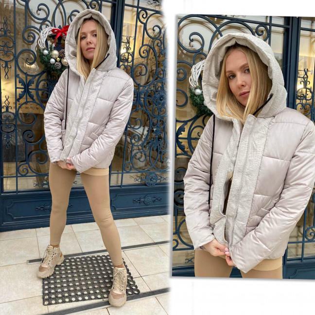 1091-5 LADY YEP бежевая куртка женская еврозима  (3 ед. размеры: 42.44.46) Lady Yep: артикул 1117316
