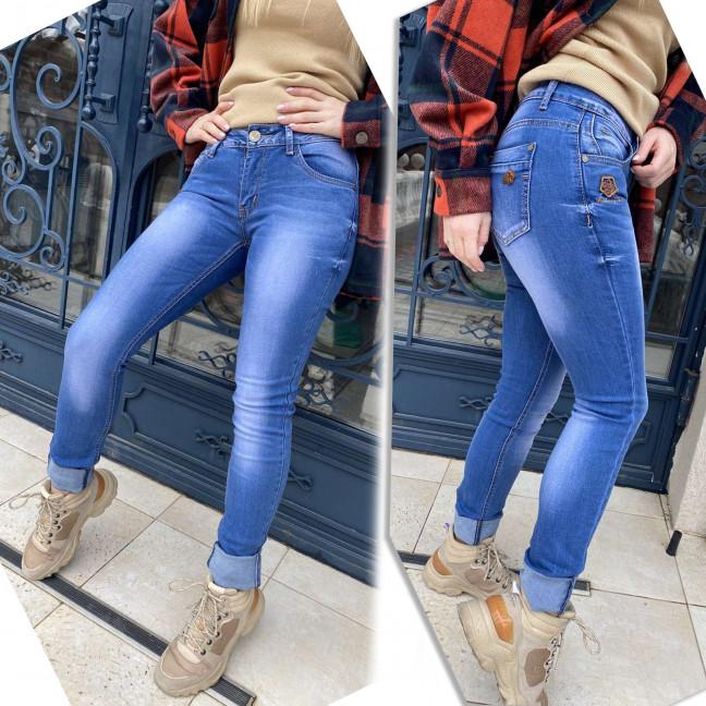 1674 X&D джинсы женские синие стрейчевые (6 ед. размеры: 25.26.27.28.29.30) X&D : артикул 1117298