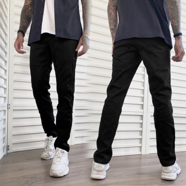 5013-01 Dsouaviet джинсы мужские на флисе черные стрейчевые (9 ед. размер: 29.30.31.32.32.33.34.36.38) Dsouaviet: артикул 1117003