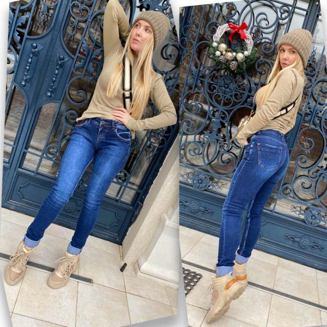 5075 Sessanta джинсы женские синие стрейчевые (6 ед. размеры: 25.26.27.28.29.30) Sessanta: артикул 1117171