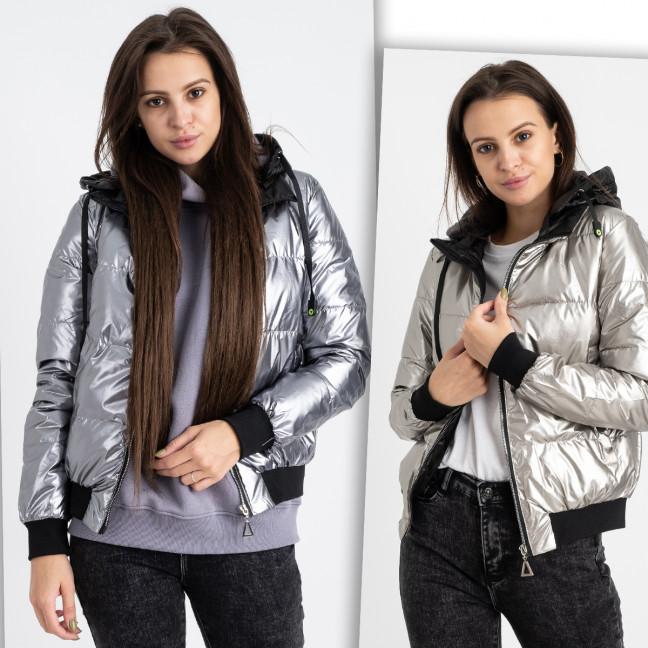 6021-22 куртка женская на синтепоне микс цветов (4 ед. размеры: M.L.XL.2XL) Куртка: артикул 1124787