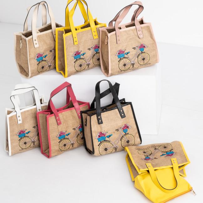 9995 сумка женская микс 5-ти цветов ( 5 ед. без выбора цвета) Сумка: артикул 1118902