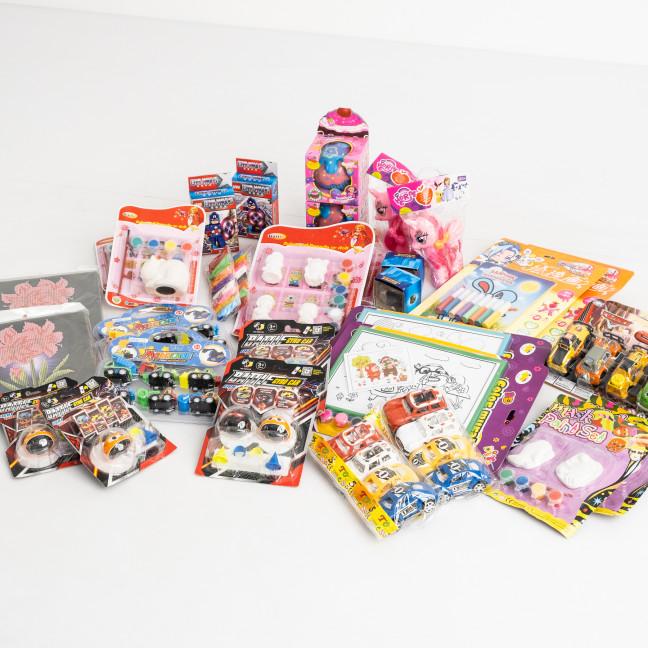 6000 микс игрушек для девочек и мальчиков от 3-х до 10 лет (30 игрушек: 15 видов по 2 ед.) Игрушки: артикул 1119081