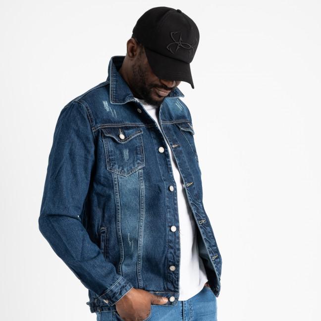 0061 In Yesir куртка мужская синяя котоновая (6 ед. размеры: S.M.L/2.XL.2XL) In Yesir: артикул 1120648