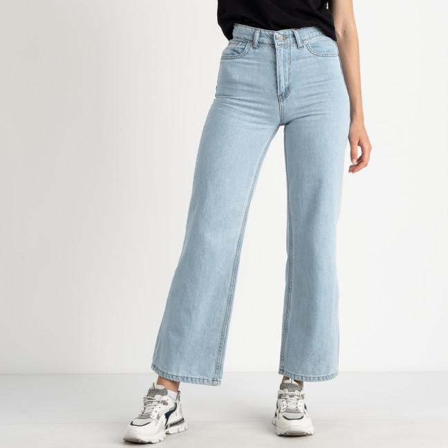 0028 Rich Play джинсы трубы голубые полубатальные котоновые (6 ед. размеры: 28.29.30.31.32.33) Rich Play: артикул 1123004