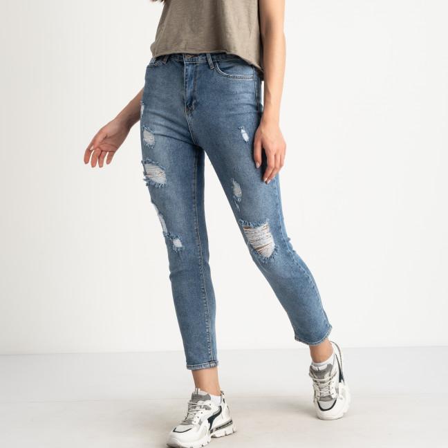 0106-2 MoonArt джинсы женские голубые стрейчевые (6 ед. размеры: 26.27.28.29.30.31) MoonArt: артикул 1123093