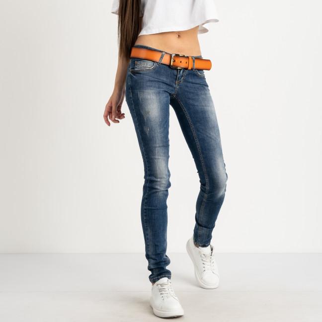 1057-425 Ritt  джинсы синие стрейчевые (6 ед. размеры: 25.26.27.28.29.30) Ritt: артикул 1123147