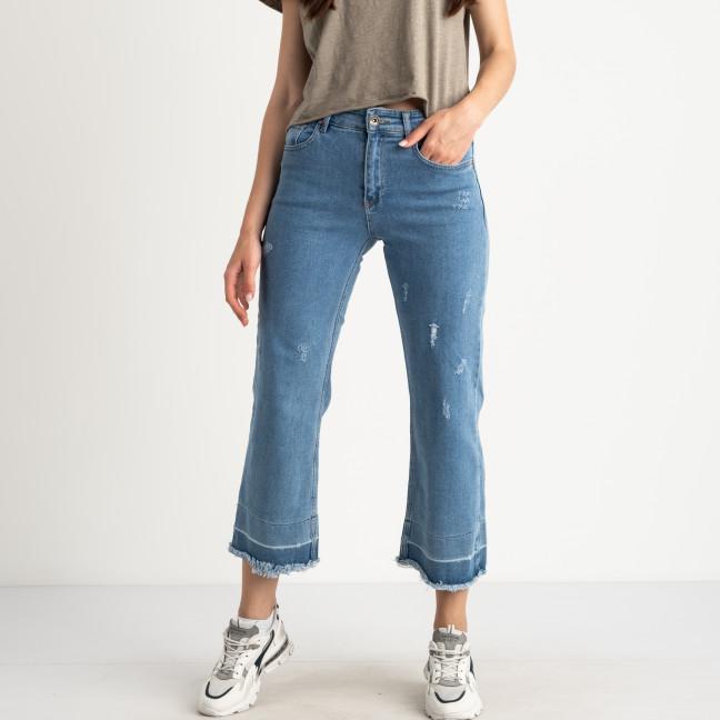 1915-01 Woox джинсы-клеш полубатальные голубые стрейчевые (9 ед. размеры: 28/3.29/2.30/3.31) Woox: артикул 1123057