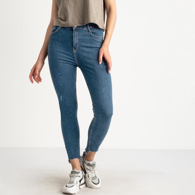 3189-1 Woox джинсы женские полубатальные голубые стрейчевые (7 ед. размеры: 29.30.31.32.33.34/2) Woox: артикул 1123044