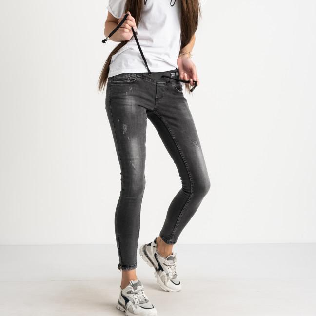 9342-571-01 Colibri джинсы серые стрейчевые (3 ед. размеры: 25.26/2) Colibri: артикул 1123156