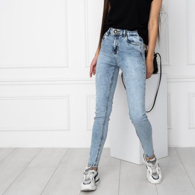 0115 Whats Up 90s джинсы голубые стрейчевые (5 ед. размеры: 26.27.28.29.30) Whats up 90s: артикул 1123120