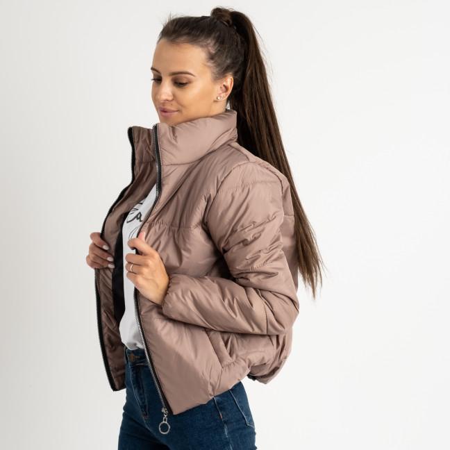 0410-2 мокко куртка женская на синтепоне ( 3 ед. размеры : 42.44.46)  Куртка: артикул 1123353