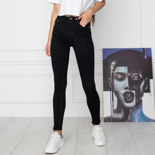 5068 New Jeans американка черная стрейчевая (6 ед. размеры: 25.26.27.28.29.30) New Jeans: артикул 1123618