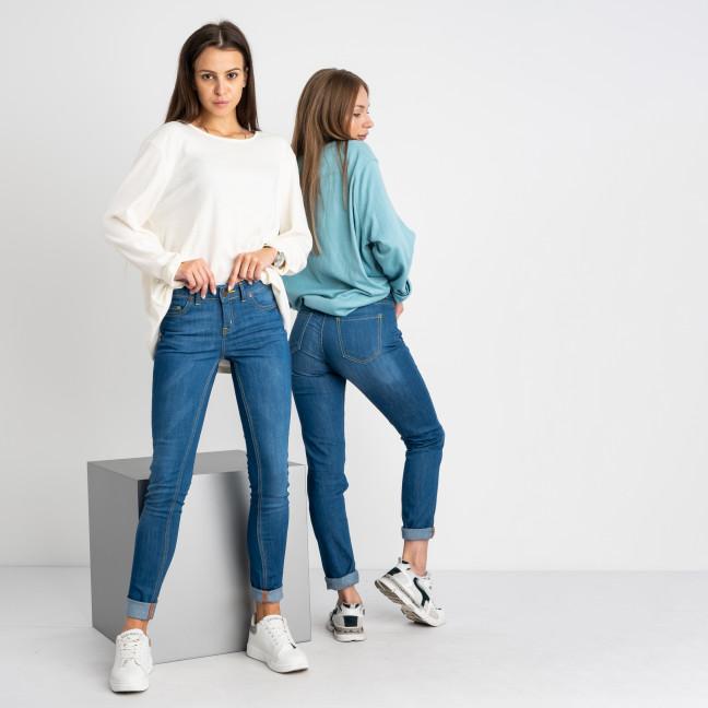 1944 Nescoly джинсы женские полубатальные голубые стрейчевые (8 ед. размеры: 27.28.29/2.30/2.32.34)  Nescoly: артикул 1122716