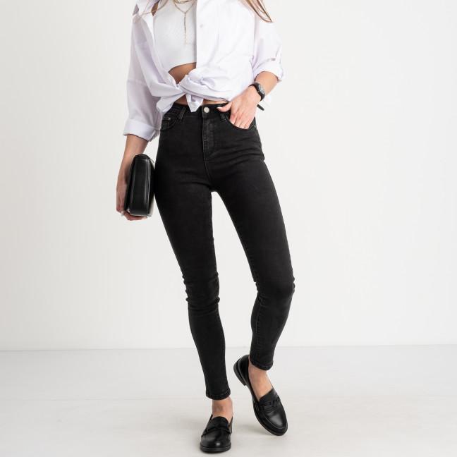 5010 New Jeans американка темно-серая стрейчевая (6 ед. размеры: 25.26.27.28.29.30) New Jeans: артикул 1123623