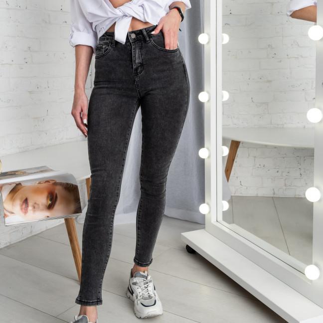 5007 New Jeans американка темно-серая стрейчевая (6 ед. размеры: 25.26.27.28.29.30) New Jeans: артикул 1123621