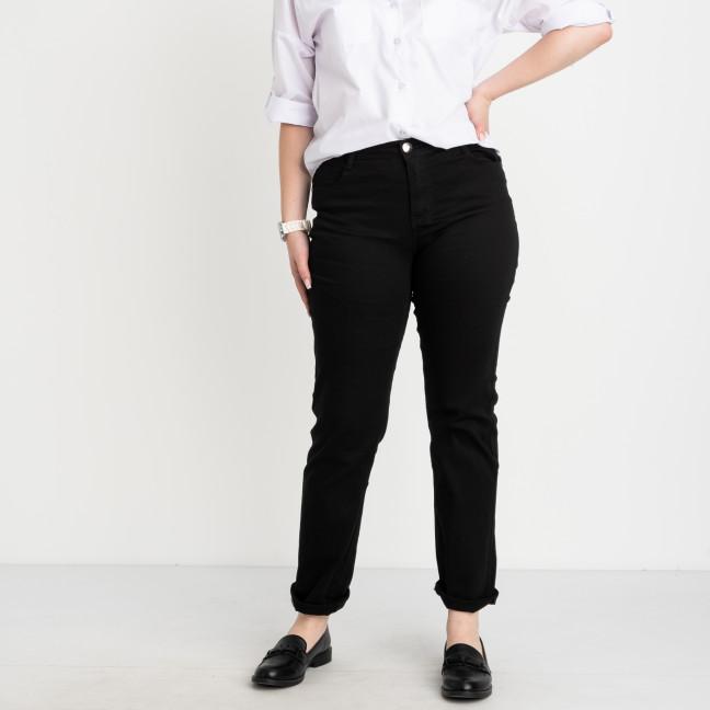 9767 Sunbird черные брюки женские батальные  стрейчевые (6 ед.размеры: 30.32.34.36.38.40) Sunbird: артикул 1104641
