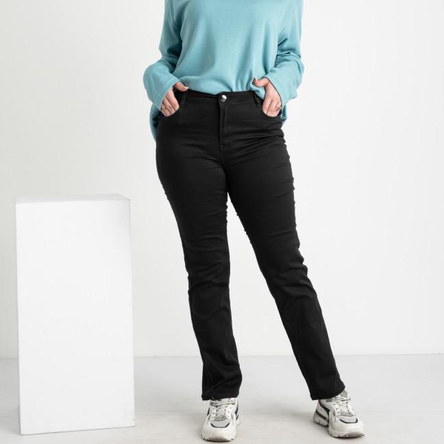 9803 Sunbird черные брюки женские батальные стрейчевые (6 ед. размеры: 33.34.35.36.37.38) Sunbird: артикул 1106639