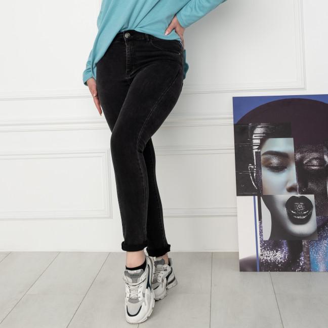 5051 New Jeans американка батальная черная стрейчевая (6 ед. размеры: 31.32.33.34.36.38) New Jeans: артикул 1123634