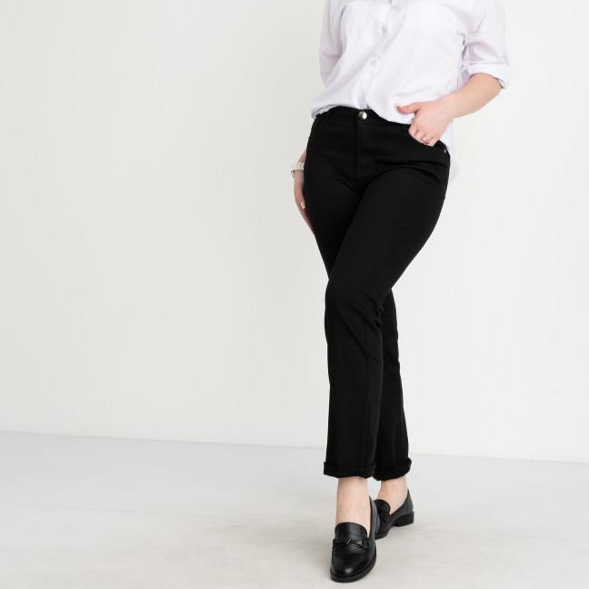 9767-1 Sunbird черные брюки женские батальные стрейчевые (6 ед. размеры: 31.33.35.37.39.42) Sunbird: артикул 1104642