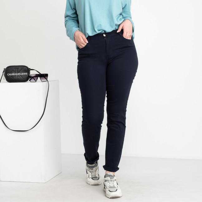 9760 R Sunbird темно-синие брюки женские батальные стрейчевые ( 6 ед. размеры : 30.31.32.33.34.35) Sunbird: артикул 1104233