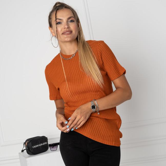 0013-1 MStore кирпичная футболка полубатальная женская (6 ед. размеры: M.L/2.XL/2.XXL) MC Store: артикул 1123809