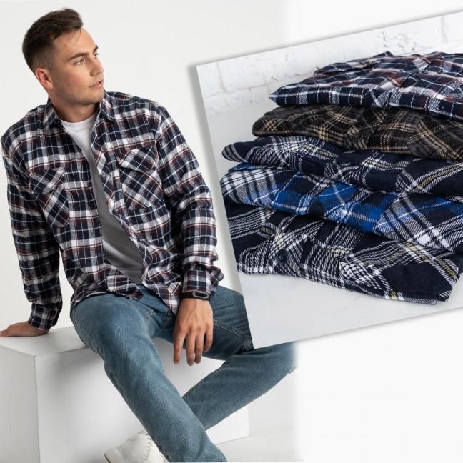 16114-2 MNT рубашка фланелевая полубатальная микс цветов (5 ед. размеры: XL.2XL.3XL.4XL.5XL) MNT: артикул 1123771