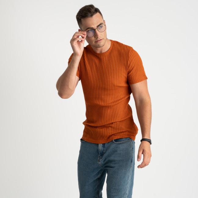 0013-1 MStore кирпичная футболка полубатальная мужская (6 ед. размеры: M.L/2.XL/2.XXL) MStore: артикул 1123748
