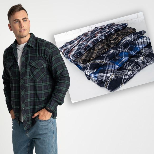 16114-66 MNT рубашка мужская микс цветов и размеров (5 ед. размеры: XL-5XL) MNT: артикул 1123772