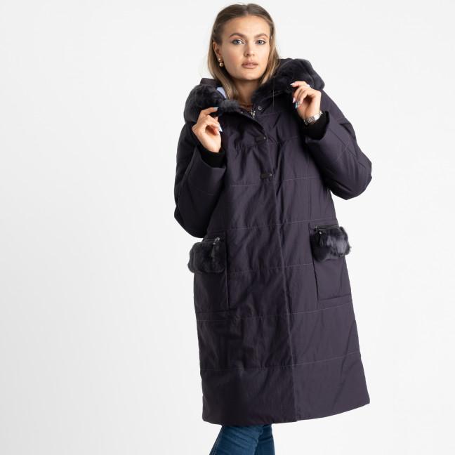 0253-2 RETTO баклажановая куртка батальная на синтепоне ( 5 ед. размеры : 48-58) Retto: артикул 1123834