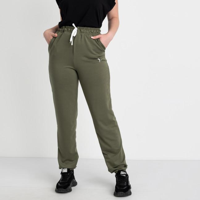 14870-10 Mishely хаки брюки женские спортивные батальные стрейчевые (4 ед. размеры: 50.52.54.56) Mishely: артикул 1123841