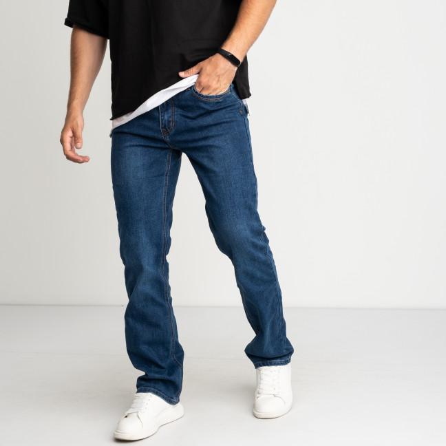 2102 V.J.Ray джинсы мужские полубатальные синие стрейчевые (8 ед. размеры: 34/3.36/3.38/2) V.J.Ray: артикул 1123869