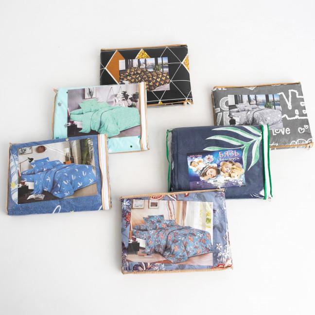 0500 полуторный комплект постельного белья микс цветов ( минимальный заказ 5 шт. ) Спальное белье: артикул 1123885