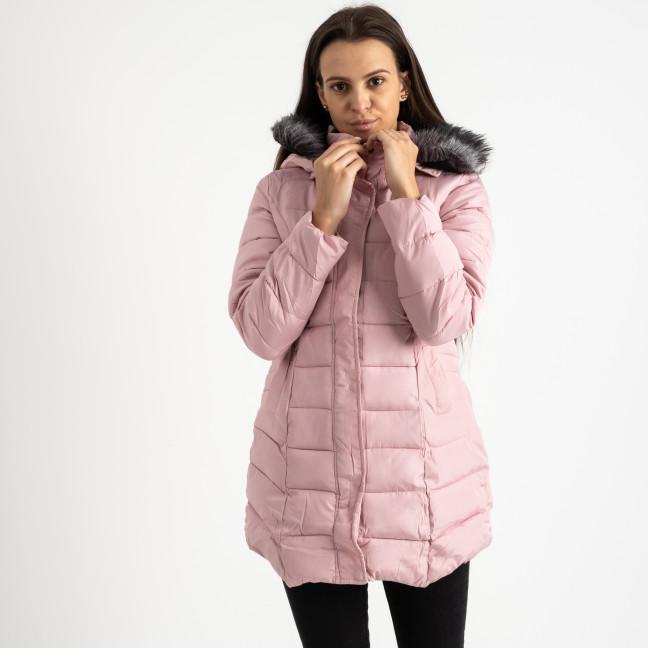 1026-4 куртка женская розовая на синтепоне (4 ед. размеры:M-3XL) Куртка: артикул 1123909