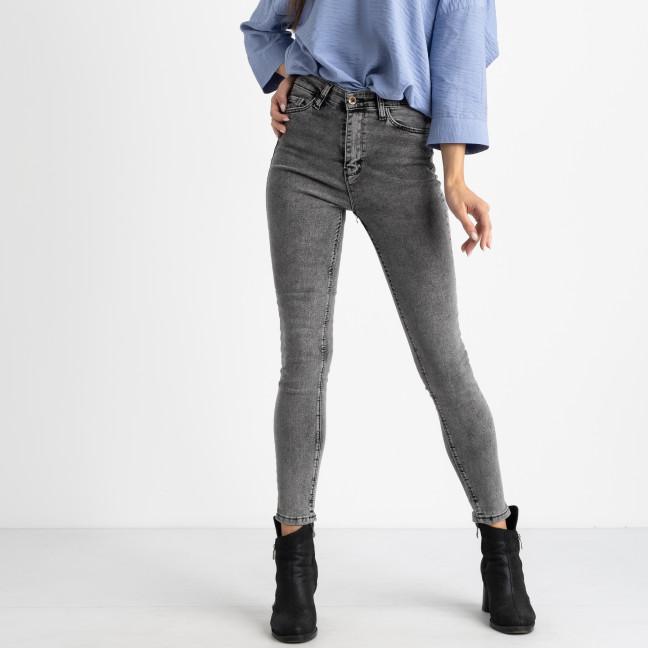 0004-10 Well see джинсы женские серые полубатальные стрейчевые (8 ед. размеры на бирке: 28.29/2.30.31.32.33.34) Well see: артикул 1123887