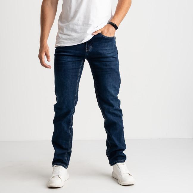 0063-2 Relucky синие джинсы мужские полубатальные стрейчевые (8 ед. размеры: 32/2.33/2.34/2.36.38)  Relucky: артикул 1124025