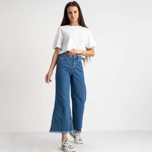 21607 YMR джинсы-кюлоты голубые женские котоновые (7 ед. размеры: 34.36/2.38/2.40.42) YMR: артикул 1124081