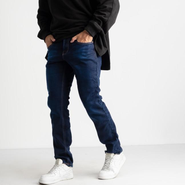 2125 Dsouaviet синие джинсы на флисе мужские стрейчевые  (8 ед. размеры: 29.30.31.32.33.34.36.38) Dsouaviet: артикул 1124936