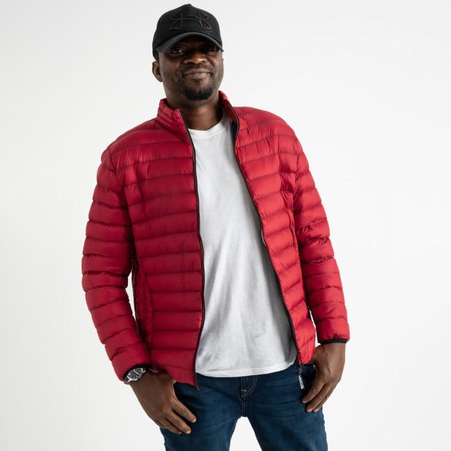 1028 красная куртка мужская на синтепоне (5 ед.размеры: L.XL.2XL.3XL.4XL) Куртка: артикул 1124159
