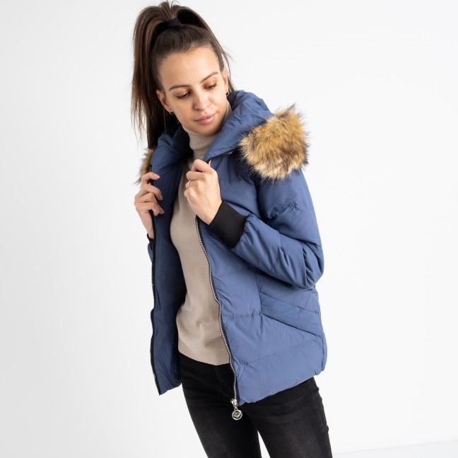 6937-2 куртка голубая женская на синтепоне (6 ед. размеры: M.L.2XL/2.3XL.4XL) Куртка: артикул 1124261