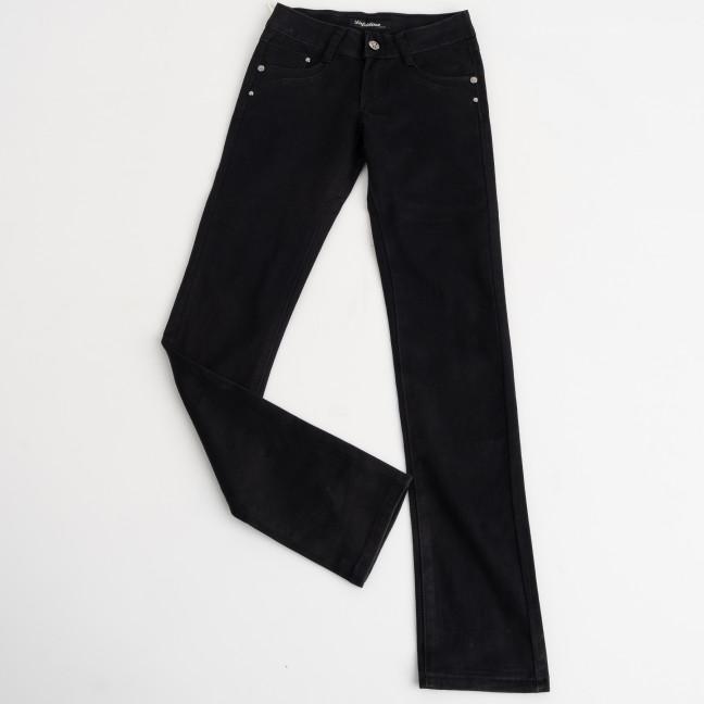 2033 Lafeidina подростоковые джинсы черные стрейчевые на девочку 8-14 лет ( 7 ед. размеры: 21.22.23.24.25.26.27) Lafeidina: артикул 1124320