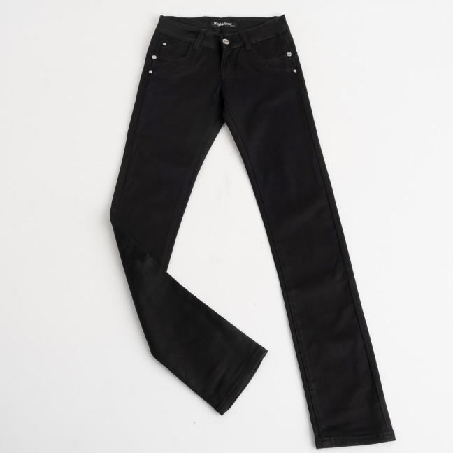 2039 Lafeidina подростоковые джинсы черные стрейчевые на девочку 8-14 лет ( 7 ед. размеры: 21.22.23.24.25.26.27) Lafeidina: артикул 1124321