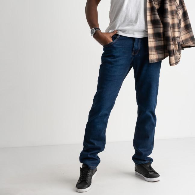 2103 Dsouaviet джинсы мужские синие на флисе стрейчевые (8 ед. размеры :29.30.31.32.33.34.36.38) Dsouaviet: артикул 1103085